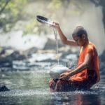 流水によるパワーストーンの浄化